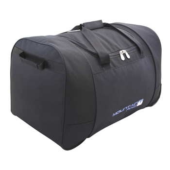 Mountain Pac Wheely Holdall Bag Black